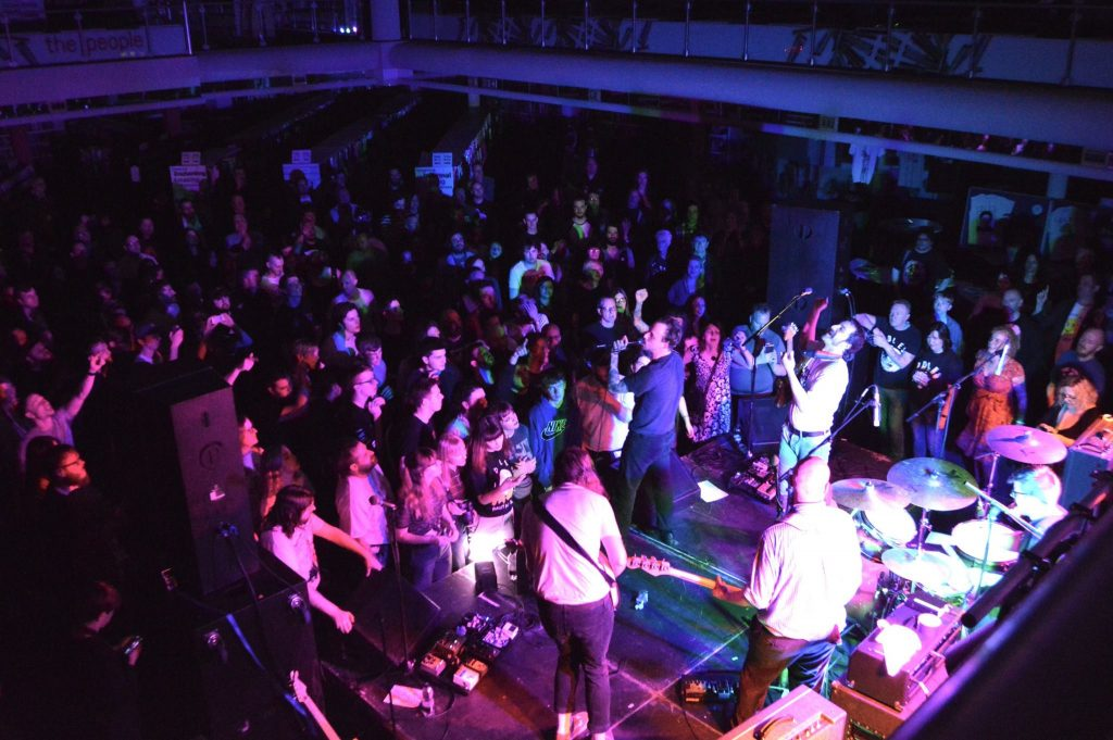 IDLES – Coventry Central Library – live review (Adrian Bloxham)