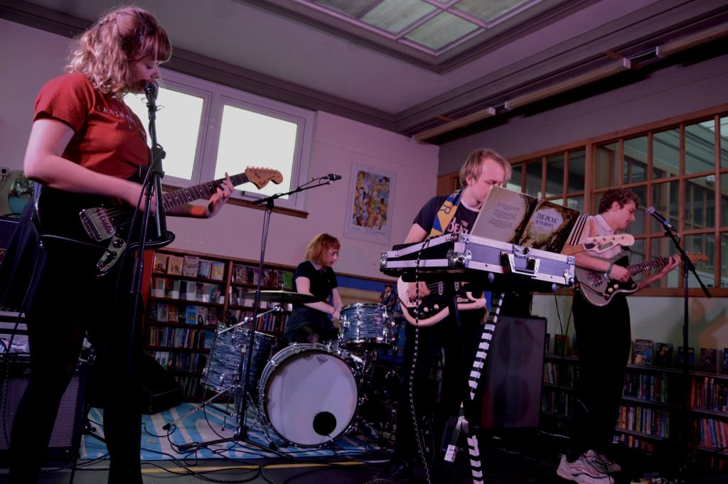 Pip Blom, Sunstack Jones: Birkenhead Library (Paul Fitzgerald)